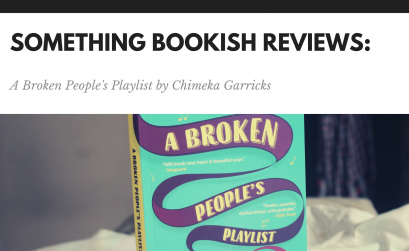 A broken People's play list by chimeka garricks | something bookish blog